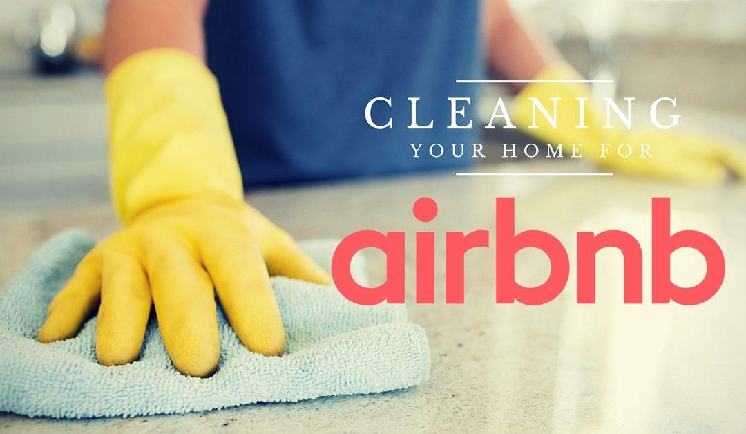 städning för airbnb uthyrare